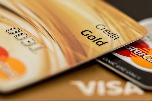 Goldene Kreditkarte der Targobank