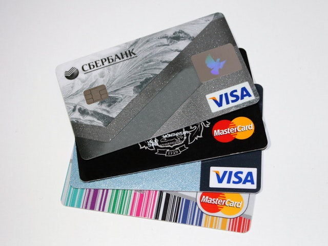 VISA Kreditkarten und MasterCard Kreditkarten