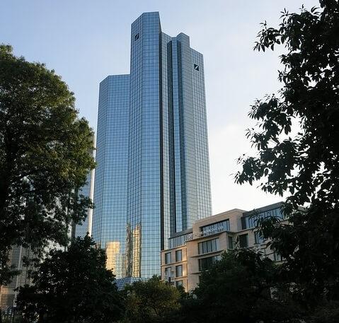 Deutsche Bank Hauptgebäude in Frankfurt