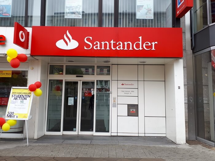 Santander Bank Filiale in Hannover