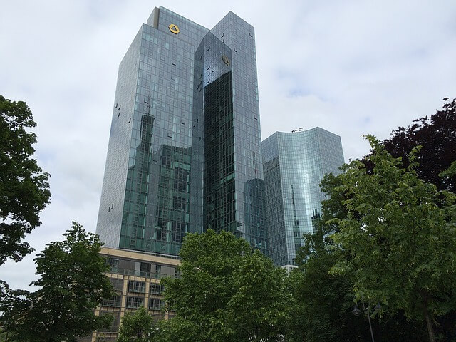 Commerzbank-Turmgebäude in Frankfurt am Main