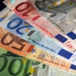 Bunte Euro Scheine