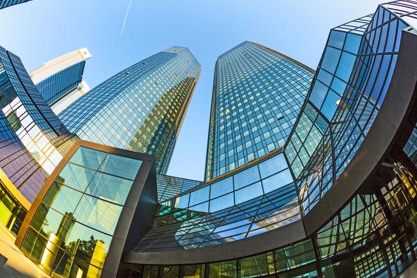 Deutsche Bank Eingang
