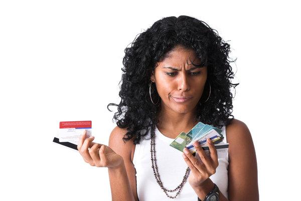 Kreditkarte auswählen